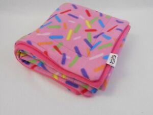 Sprinkles-Fleece Cage Liners-Lofts-Cuddle Sacks-Beds-Pee Pads