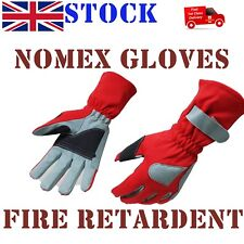 Leather & Nomex Fire Retardent Gloves, Racing, Driving,Flying,Driver,Pilot SALE
