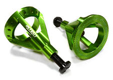 C26133GREEN Scale 59-105mm Model Jack Stands(2)for 1/10,1/8 Scale,Rock Crawler