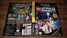 LEGO STAR WARS II THE ORIGINAL TRILOGY NINTENDO GAMECUBE MINT CONDITION COMPLETE
