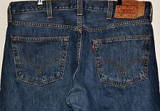 VINTAGE LEVI STRAUSS & CO BLUE 501 STRAIGHT LEG JEANS W 38 L30