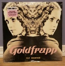 "Goldfrapp Felt Mountain LP Record Store Day Exclusive Colored Vinyl 12"" sealed"