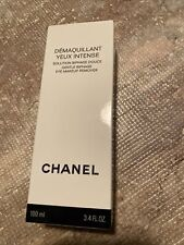 Chanel Demaquillant Yeux Intense Gentle Biphase Eye Makeup Remover 3.4 Oz.