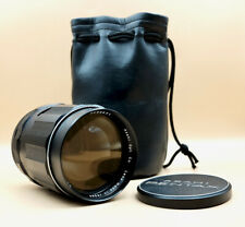 PENTAX SUPER TAKUMAR 135mm 2.5 Telephoto Portrait Lens for M42 fit with caps