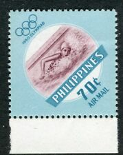 PHILIPPINES;  1960 early Olympics issue Mint MNH Unmounted 70c.
