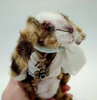 Teddy Rabbit Fixi OOAK Artist Teddy by Voitenko Svitlana.
