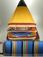 Sonoma Color Fest Lot of 13 Plates