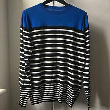 Very Cool UNIFORM EXPERIMENT sophnet Japan Fine Cotton Sweater Sz 3
