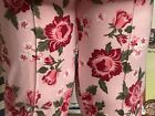 Big Red Roses on Pink tights skinny pants Stretch knit for Patti Playpal doll