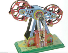 NEW TWIN FERRIS WHEEL WIND UP COLLECTABLE RETRO STYLE