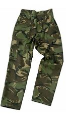 Mens Blue Castle Camouflage Camo Combat Work Cargo Army Trousers Pants