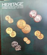 Heritage World & Ancient Coins Auction #3042 Sept. 2015 Long Beach CA new