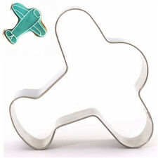 Airplane Stainless Steel Cookie Cutter Cake Baking Mould Biscuit Mould ☆