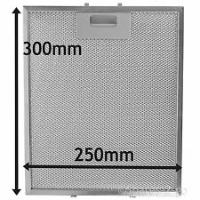 Silver Grease Filter For BOSCH NEFF SIEMENS Cooker Hood Metal Vent 300 x 250 mm