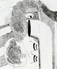 HORST ANTES - handsignierte Radierung, 1965, Auflage 16!