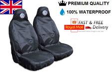VOLKSWAGEN PASSAT PREMIUM VW CAR SEAT COVERS PROTECTORS 100% WATERPROOF / BLACK