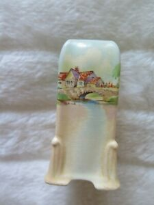 Royal Doulton Series Ware Upright Small Vase Old English Inns D6072