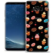 Coque Crystal Gel Pour Samsung Galaxy S8 (G950) Extra Fine Souple Foodie Donuts
