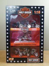 Maisto Harley-Davidson Collectible 95th Anniversary Edition Motorcycle Set 1:18