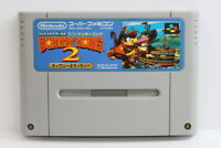 Super Donkey Kong Country 2 SFC Nintendo Super Famicom SNES Japan Import I5940