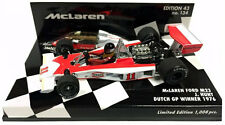 Minichamps MCLAREN M23 DUTCH GP 1976 Campione del Mondo-James Hunt scala 1/43