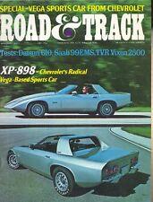 Road & Track Magazine January 1973 Chevolet XP-898, TVR Vixen 2500M, BMW 2002