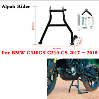 Motorcycle Centerstand Center Stand Kick Stand Black For BMW G310 GS 2017-2019