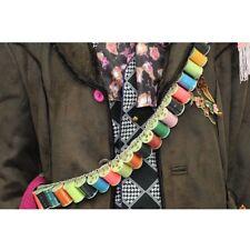 Exact Mad Hatter BANDOLIER Thread Belt Colourful Yarn costume bandoleer props