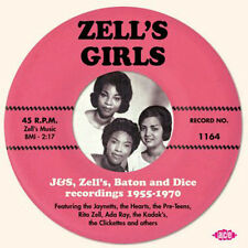 "ZELL'S GIRLS  ""JAYNETTS, THE HEARTS, PRE-TEENS, RITA ZELL, ADA RAY & OTHERS"""
