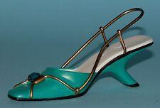 "Just the Right Shoe, Raine, ""Elegant Touch"" mixed media miniature # 25347 Nib"