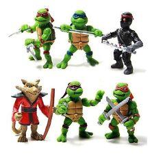 Ninja Turtles Splinter Playset 6 Figure Cake Topper * USA SELLER* Toy Doll Set