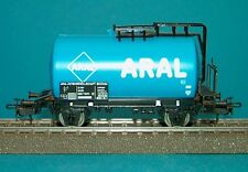 M&B Marklin HO 4646 tankcar ARAL light blue