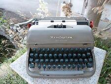 Remington Rand Office Riter Portable Typewriter Vintage 1950s Green Keys Britain
