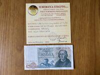 BANCONOTA LIRE 5000 COLOMBO II TIPO 3 CARAVELLE 20 5 1971 SPL+
