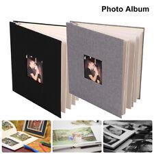 Photo Album Scrapbook Self Adhesive Scrap Book Vintage Blank Pages Memory Book