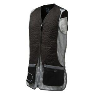 Beretta DT11 Mesh Shooting Vest Skeet Black & Grey Clays Trap Large