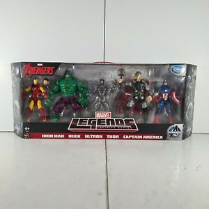 Marvel Legends Series Iron Man Hulk Ultron Thor Captain America Avengers 5 pack