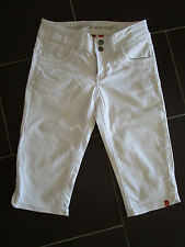 "NEUw.! ""edc by ESPRIT Damen Capri Jeans Five - 7/8 Hose, Bermuda"" Gr. 36, weiß"