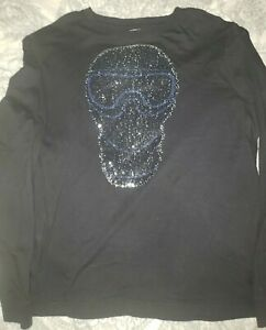 Authentic Sean John Cold War Crew T-Shirt Tee Size XL Black Preowned