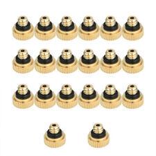 20pcs/set Brass Misting Nozzles Water Mister Sprinkle For Cooling System D5Z