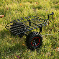 RC Trailer Metal Cargo Carrier for Traxxas HSP Redcat 1/10 RC Crawler Car Toy