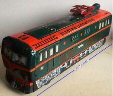 KO Ancienne Electric Locomotive ED 5108 à piles tôle lithographiée made in Japan