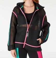 Puma Women's Chase Spacer Full‑Zip Hoodie, Black ‑ Size Small New W/Tag