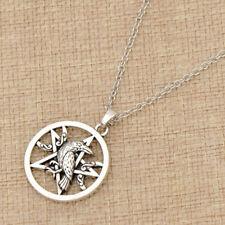 1pc Pentacle Pentagram Norse Viking Raven Necklace Slavic Amulet Jewelry for Men