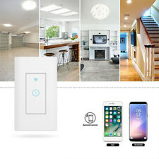 New Smart WiFi Wall Touch Switch LED Light Remote Control For Alexa Google