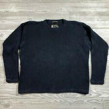 Eddie Bauer Legend Navy Sweater Men's L Z31