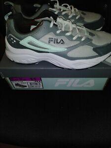 Fila Women's Recollector Leather Mesh Walking Shoe Womens Size 11 New