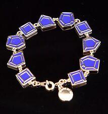 Marc Jacobs M0001098 Armreif Armband Farbe:Gold/Blau NEU!