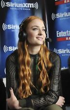 GLOSSY PHOTO PICTURE 8x10 Sophie Turner With Headphones