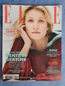 Magazine ELLE n°3896 du 21 août 2020 Alexandra Lamy et rentrée sereine TBE